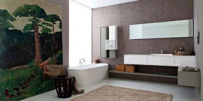 Banyo Dekorasyonu Fayans Renk Kombinleri