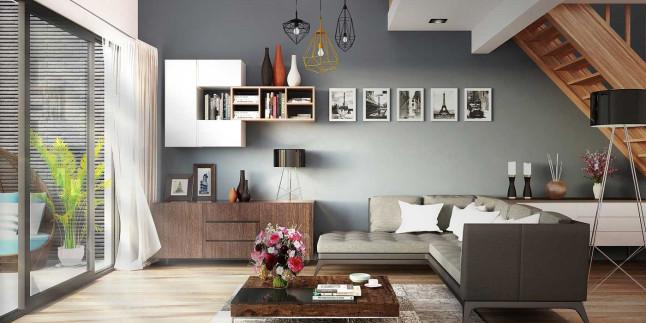 Oturma Odası Dekorasyon Fikirleri 2019