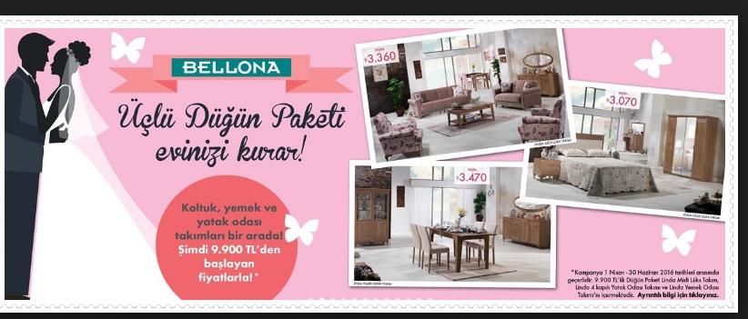 Photo of Bellona Düğün Paketleri 2018