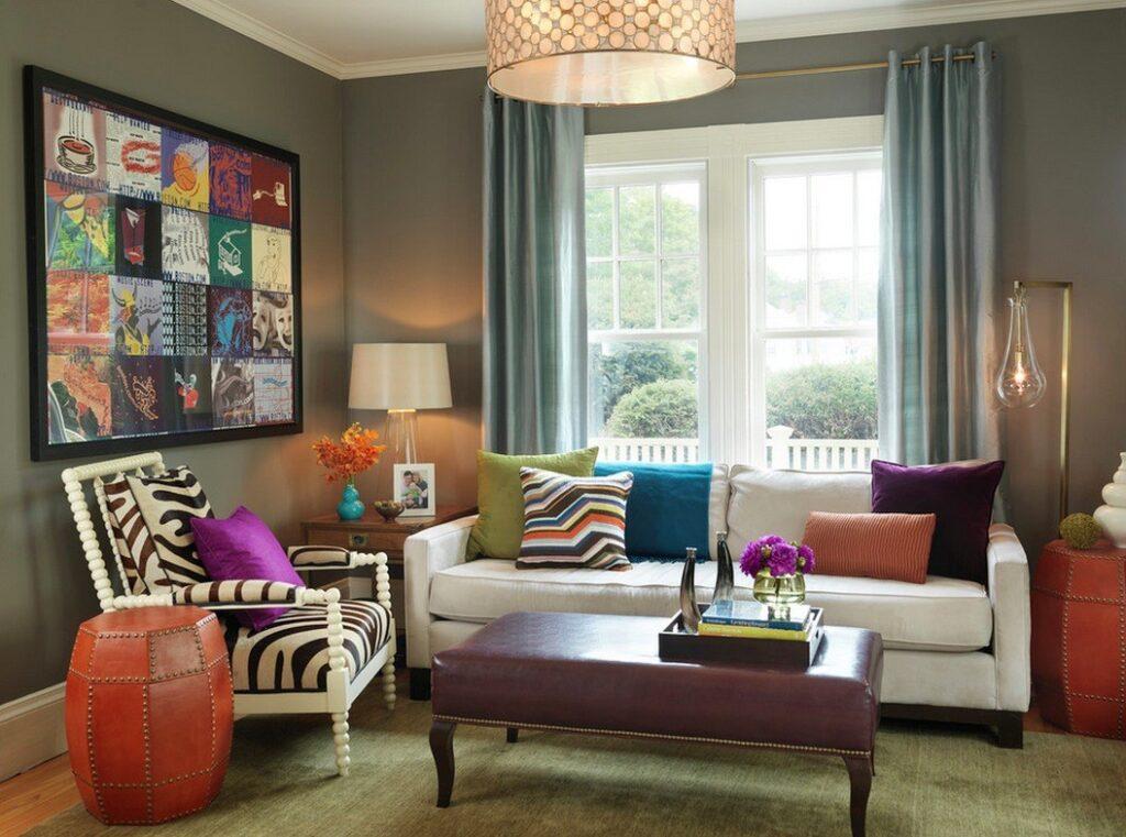 Oturma Odası Dekorasyonunda Önemli Parçalar