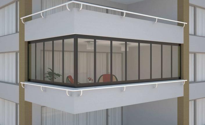 2021 Balkon Dekorasyonu Fikirleri